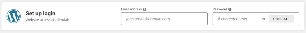 SiteGround_Credentials WordPress