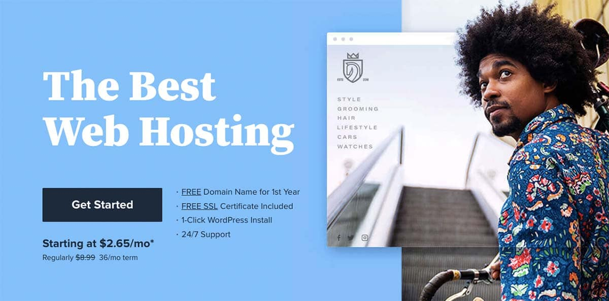Bluehost 70% Discount